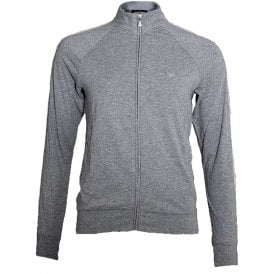 Bodywear Visibility Sparkle Logo Full Zip Jacket, Grey