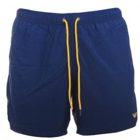 Logo Swim Shorts, Washed Blue
