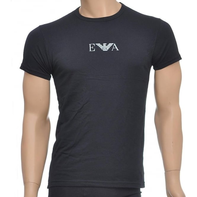 reputable site cdfb7 54103 Stretch BI-Pack Crew Neck T-shirt, Black