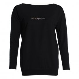 Visibility Logo Sweater, Black