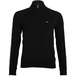 Visibility Sparkle Logo Full Zip Jacket, Black