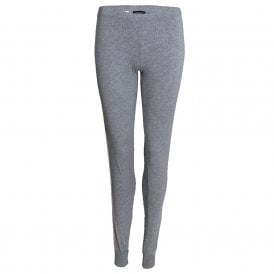 Visibility Sparkle Logo Lounge Pant with Cuffs, Grey