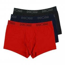 Boxerlines Boxer Brief 3-Pack, Black / Navy / Red