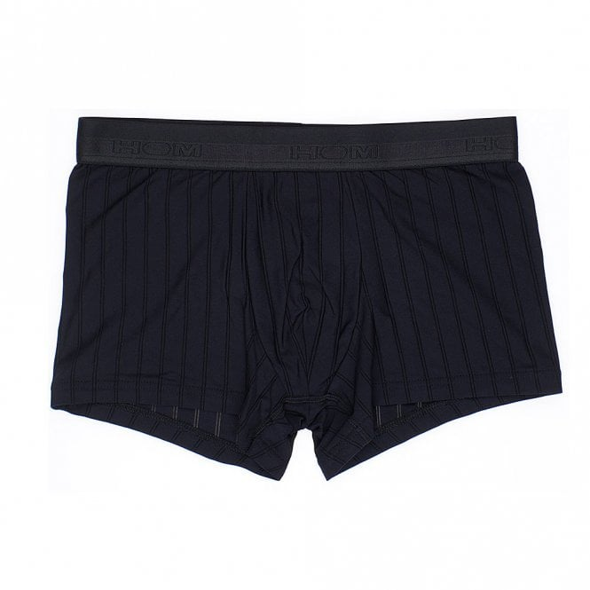 HOM Chic Temptation Microfiber Boxer Brief, Black
