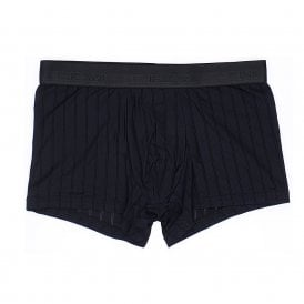 Chic Temptation Microfiber Boxer Brief, Black