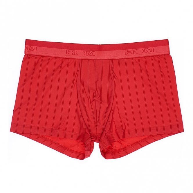 HOM Chic Temptation Microfiber Boxer Brief, Red