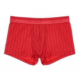 Chic Temptation Microfiber Boxer Brief, Red