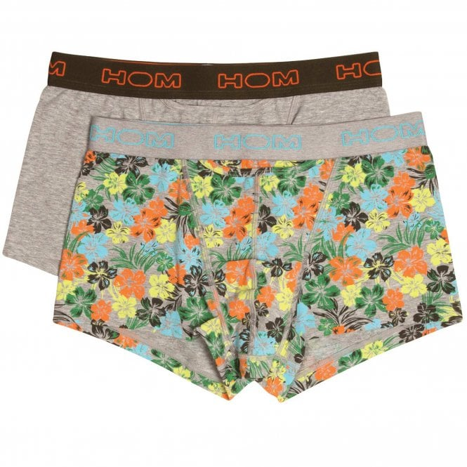 HOM HO1 Boxerlines Boxer Brief 2-Pack, Aloha