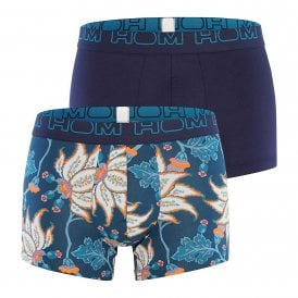 Martin Boxerlines 2-Pack Boxer Brief, Navy / Navy Print