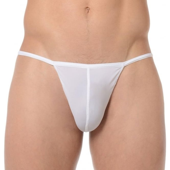 63eef98817a6 HOM Plume G-String White