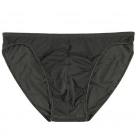 Plumes Micro Brief, Khaki Green