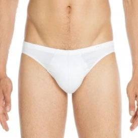 Premium Cotton Modal Comfort Micro Brief, White