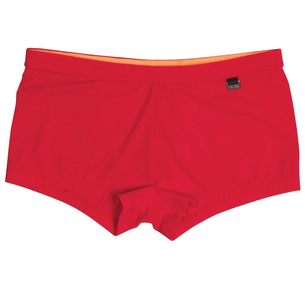 33af9a2665 HOM Splash Swim Shorts, Red