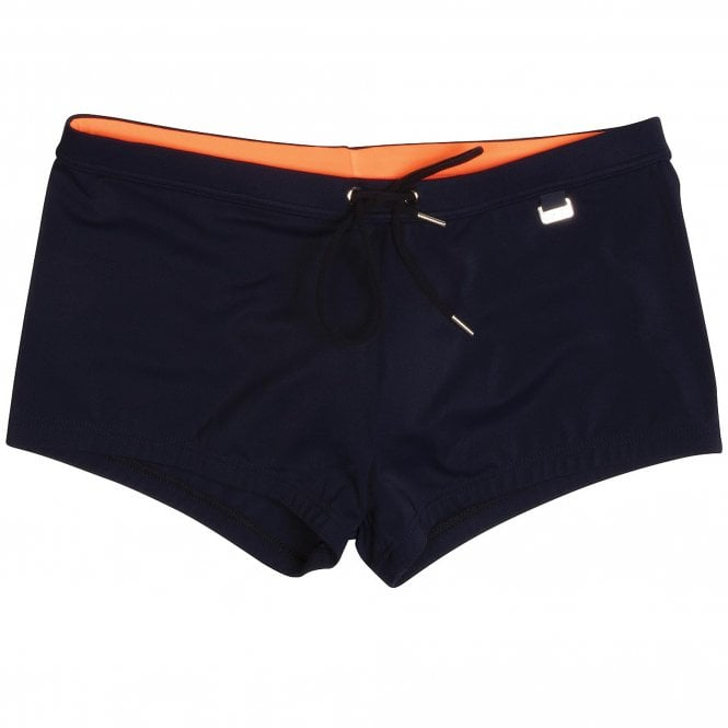 HOM Splash Up Swim Shorts, Navy