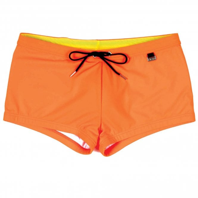 HOM Splash Up Swim Shorts, Orange