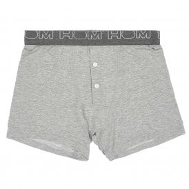 VINTAGE Button Front Boxer Brief, Grey