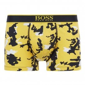 24 Print Cotton Stretch Trunk, Yellow Print