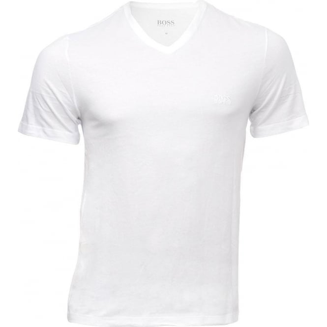7fdd8c518 Hugo Boss 3-Pack Cotton Classic V-Neck T-Shirt Black/Grey/White