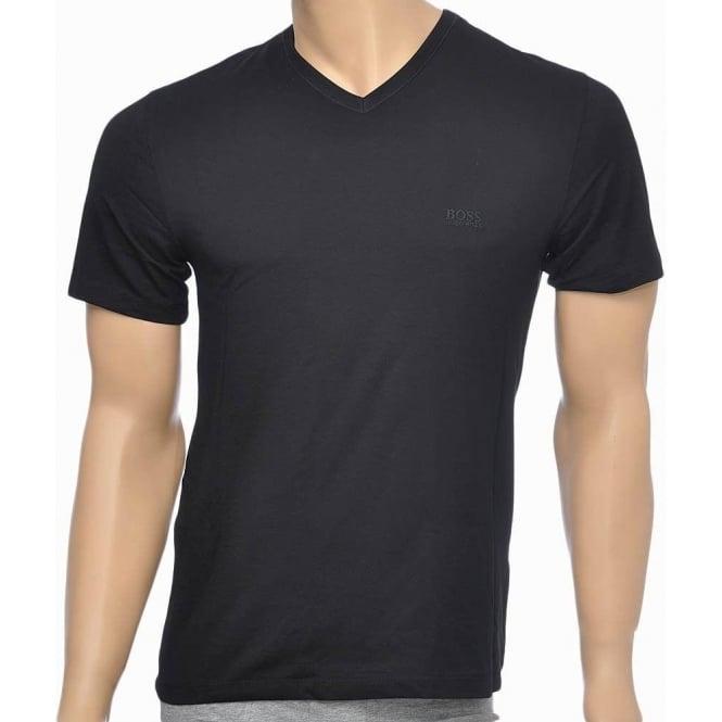 097af08b5 Hugo Boss 3-Pack Cotton Classic V-Neck T-Shirt Black