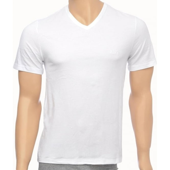 0d065aa1d Hugo Boss 3-Pack Cotton Classic V-Neck T-Shirt White