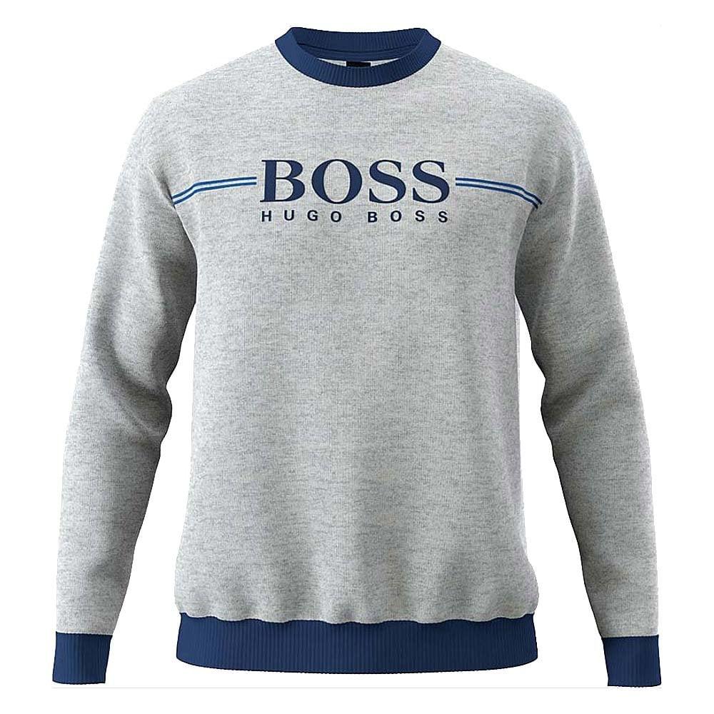 Hugo Boss Mens Tracksuit Crewneck Lounge Sweatshirt Sweater