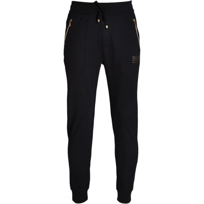 HUGO BOSS Cotton Blend Loungepant, Dark Blue