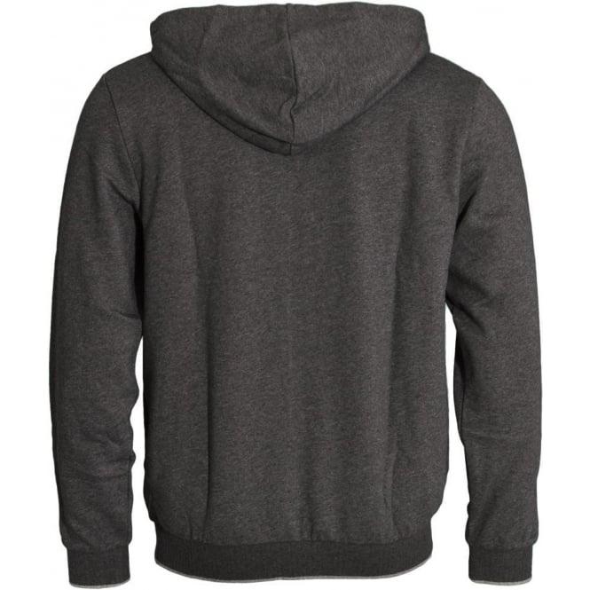 b1bddab9 HUGO BOSS Cotton Blend Zip-through Hooded Jacket Grey