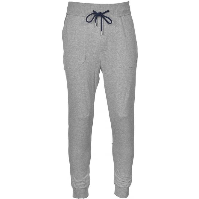 BOSS Cotton Loungepant with Cuffs, Grey