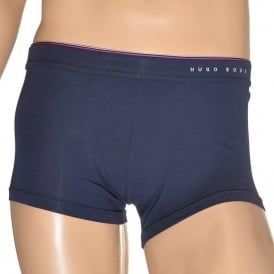 Cotton Modal Stretch Boxer Trunk, Dark Blue