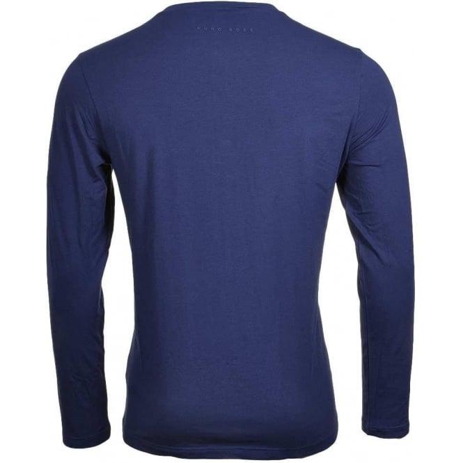 BOSS HUGO BOSS Mens Cotton Modal Crew T-Shirt