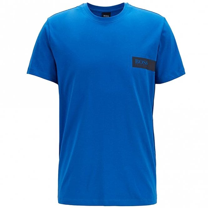 BOSS Relaxed Crew Neck Underwear T-Shirt, Bright Blue