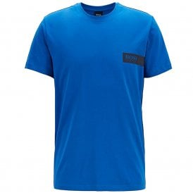 Relaxed Crew Neck Underwear T-Shirt, Bright Blue