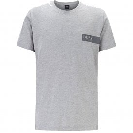Relaxed Crew Neck Underwear T-Shirt, Grey