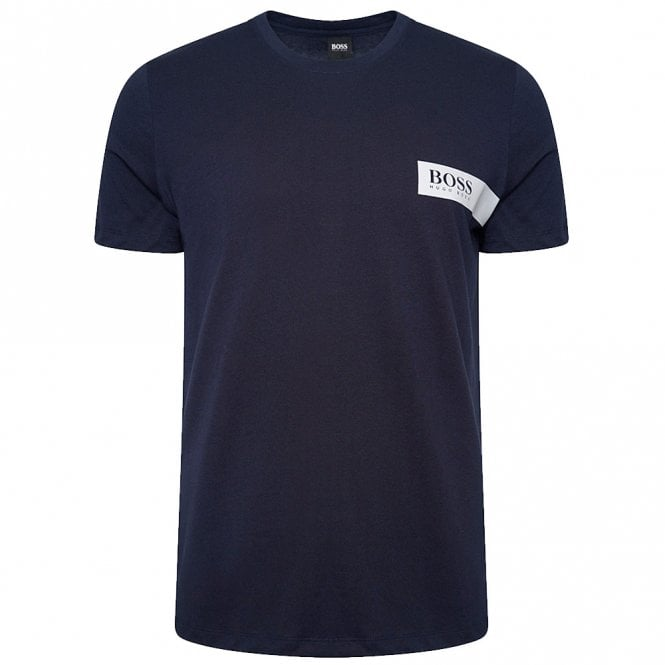 BOSS Relaxed Crew Neck Underwear T-Shirt, Navy