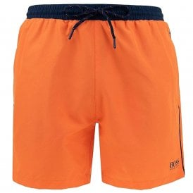 Starfish Swim Shorts, Orange