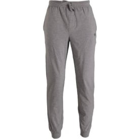 Stretch Cotton Drawstring Loungepant, Grey