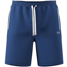 Stretch Cotton Mix & Match Shorts, Bright Blue