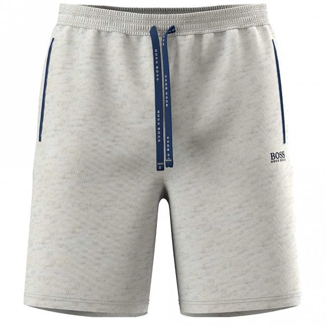 BOSS Stretch Cotton Mix & Match Shorts, Grey