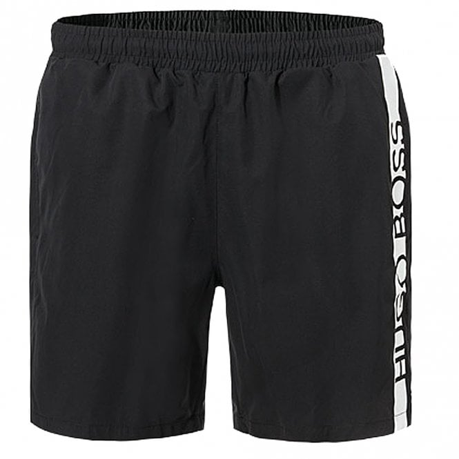 BOSS Dolphin Swim Shorts, Black