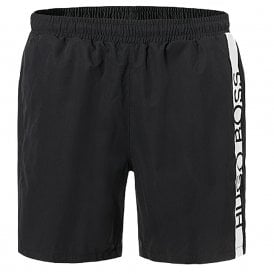 Dolphin Swim Shorts, Black
