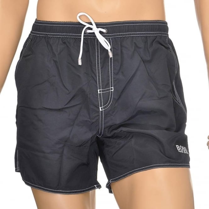 5b9ef130fb Hugo Boss Swimwear Lobster Swim Shorts, Black