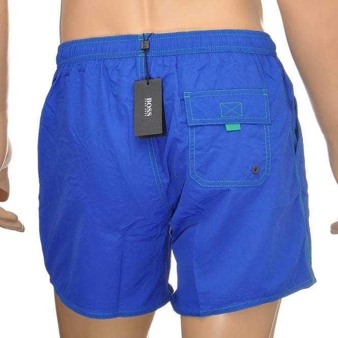 5206c72ed0922 Hugo Boss Swimwear Lobster Swim Shorts, Blue