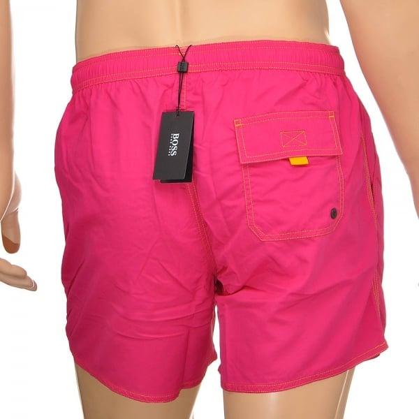 ac3d6d5dbac77 Hugo Boss Swimwear Lobster Swim Shorts, Pink