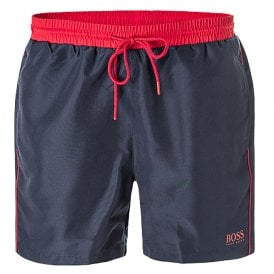 Starfish Swim Shorts, Navy