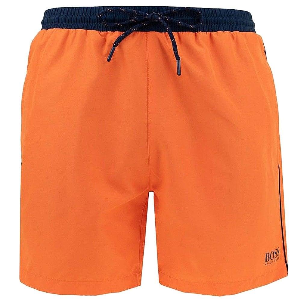 f594c29f4 Hugo Boss Swimwear Starfish Swim Shorts, Orange