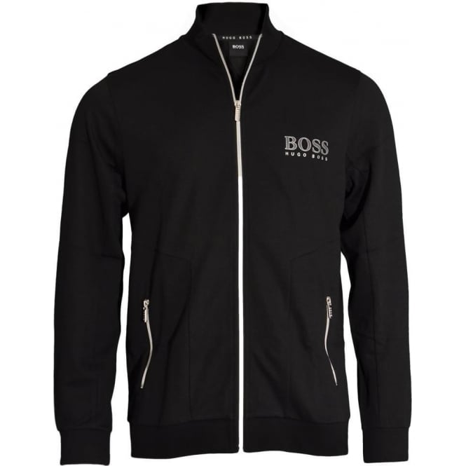 BOSS Tracksuit Jacket, Black