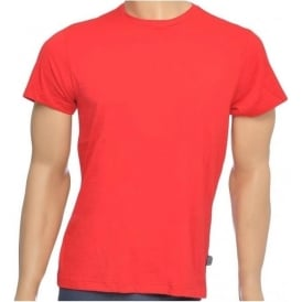 USA Originals American Crew Neck T-Shirt, Red