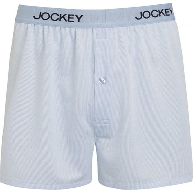 Jockey USA Originals Woven Boxer Short, Blue