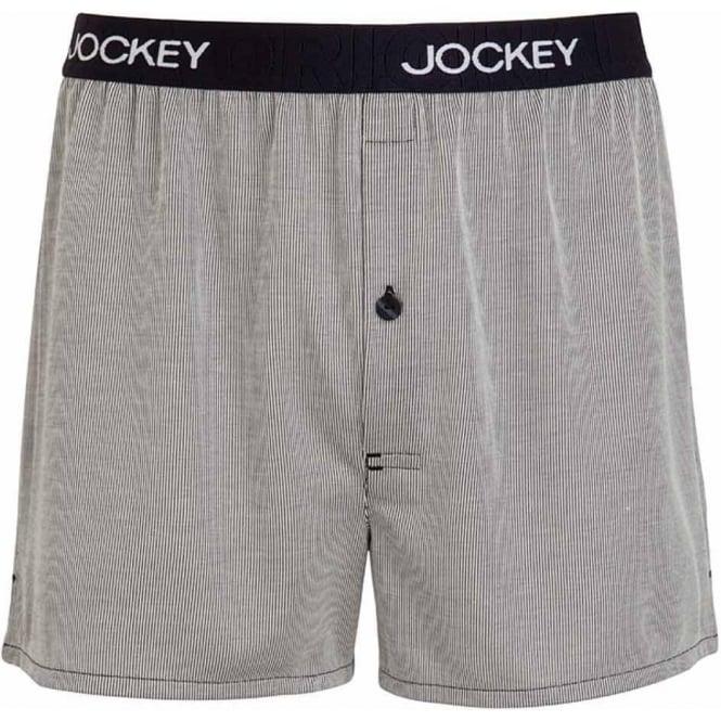 Jockey USA Originals Woven Boxer Short, Navy