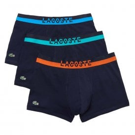 Colours Cotton Stretch 3-Pack Boxer Trunk, Navy